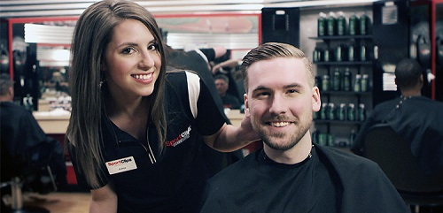 Sport Clips Haircuts of Brenham Crossroads Shopping Center​ stylist hair cut
